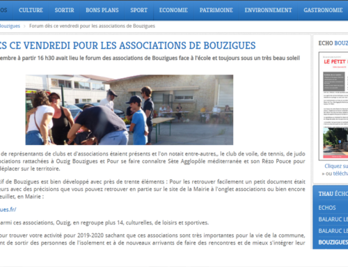 Forum des associations (Thau Infos)