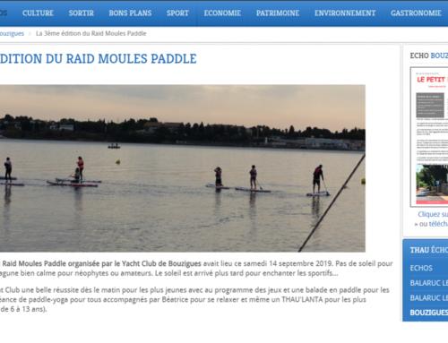 La 3ème édition du Raid Moules Paddle (Thau Infos)