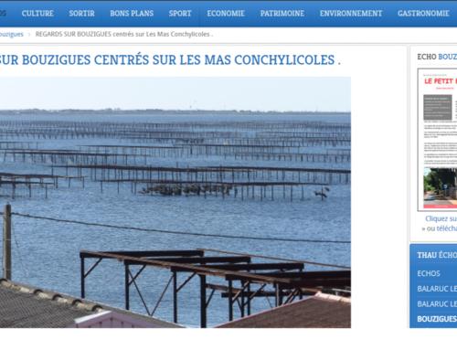Regards sur Bouzigues centrés sur les Mas Conchylicoles… (Thau Infos)