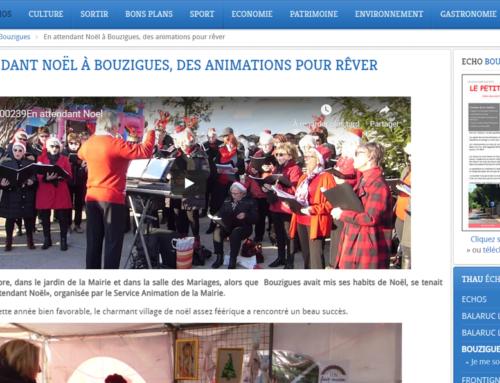En attendant Noël à Bouzigues, des animations pour rêver… (Thau Infos)