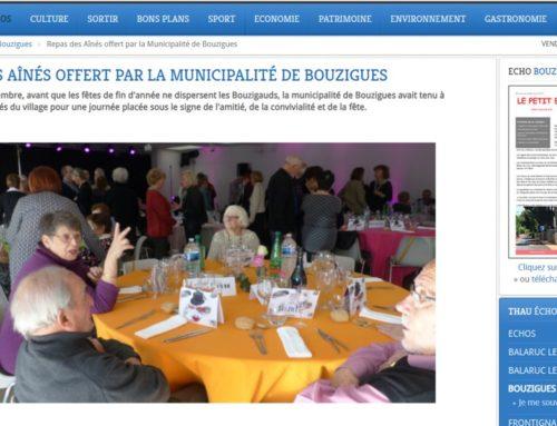 Repas des Aînés offert pas la Municipalité de Bouzigues… (Thau Infos)