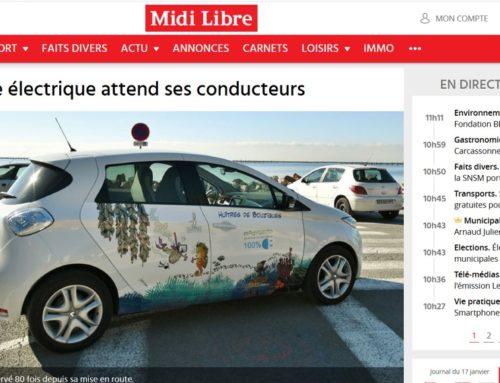 Le véhicule électrique attend ses conducteurs (Midi Libre)