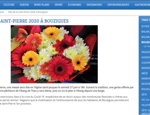 Fête de la Saint Pierre 2020 à Bouzigues (Thau Infos)