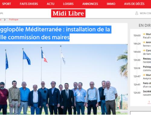 Sète agglopôle Méditerranée : installation de la nouvelle commission des maires (Midi Libre)