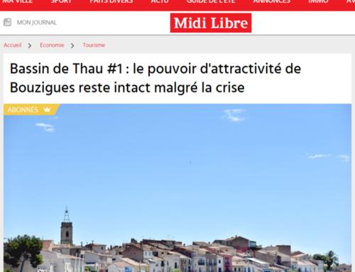 Bassin de Thau #1 : le pouvoir d'attractivité de Bouzigues reste intact malgré la crise (Midi Libre)