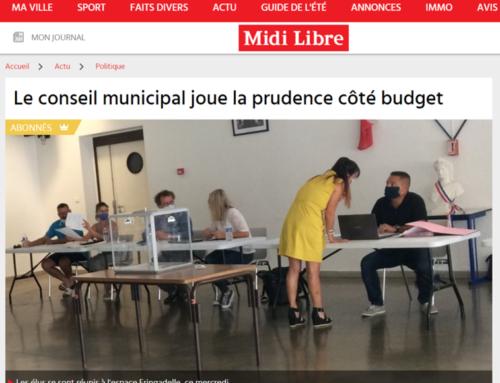 Le conseil municipal joue la prudence côté budget (Midi Libre)