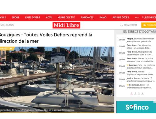 Bouzigues : Toutes Voiles Dehors reprend la direction de la mer