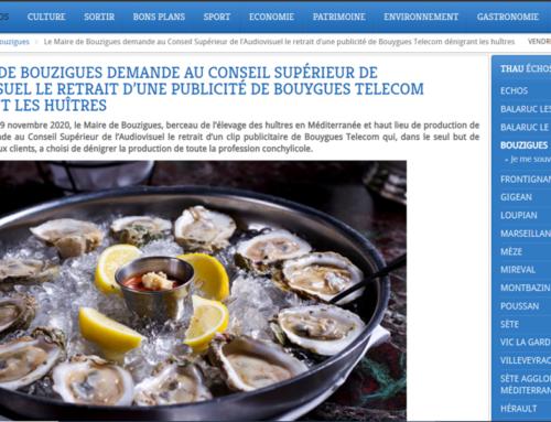 Le Maire de Bouzigues demande au conseil supérieur de l'audiovisuel le retrait d'une publicité de Bouygues Télécom (Thau Infos)