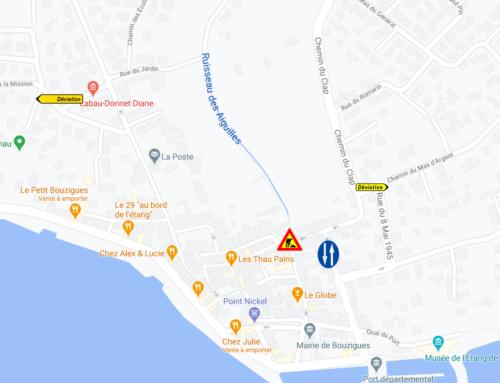 Attention : 17 et 18 Novembre 2020, travaux au bas de la Grand'Rue Etienne Portes