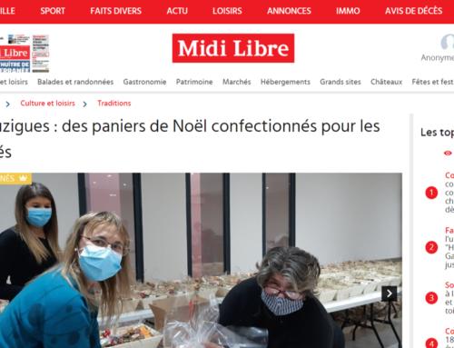 Bouzigues : des paniers de Noël confectionnés pour les aînés (Midi Libre)