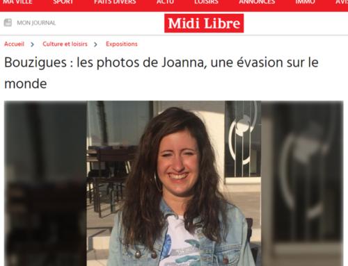 Bouzigues : les photos de Joanna, une évasion sur le monde (Midi Libre)