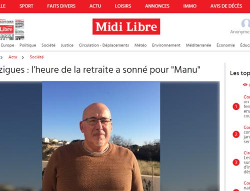 Bouzigues : l'heure de la retraite a sonné pour «Manu» (Midi Libre)