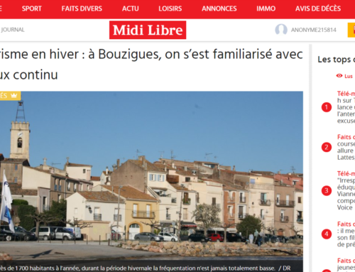 Tourisme en hiver : à Bouzigues, on s'est familiarisé avec le flux continu (Midi Libre)