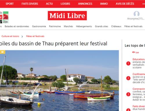Les Voiles du bassin de Thau préparent leur festival (Midi Libre)