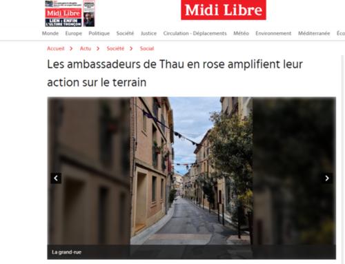 Les ambassadeurs de Thau en rose amplifient leur action sur le terrain (Midi Libre)