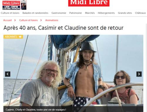 Après 40 ans, Casimir et Claudine sont de retour (Midi Libre)